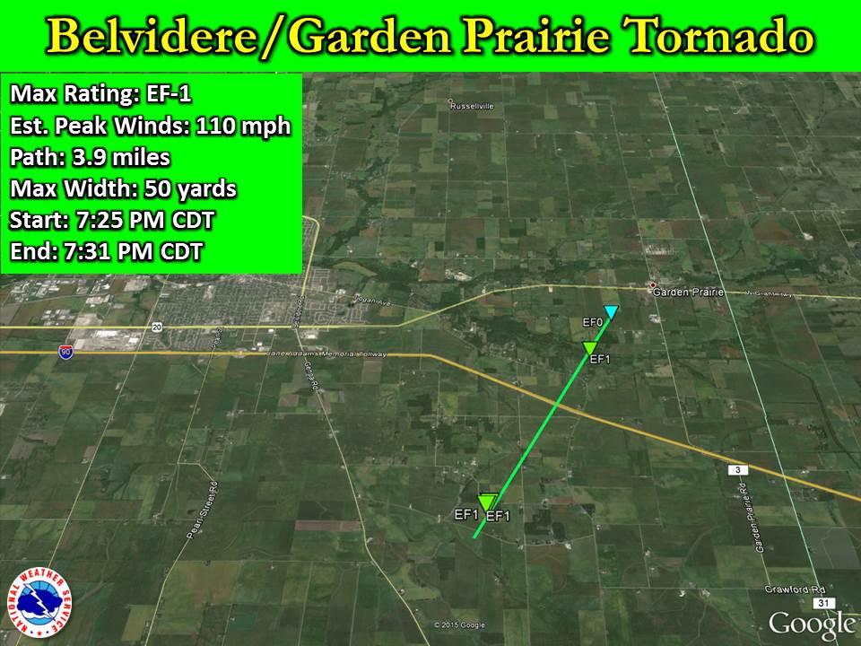 Belvidere Garden Prairie Tornado