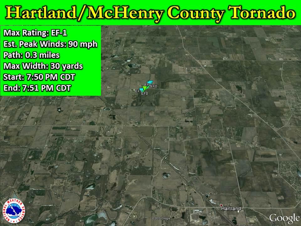 Hartland McHenry County Tornado