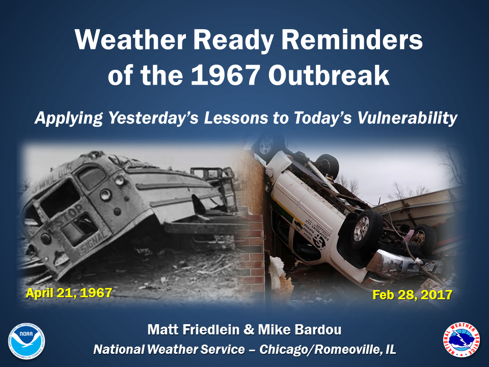 Weather Ready Reminders of the 1967 Outbreak