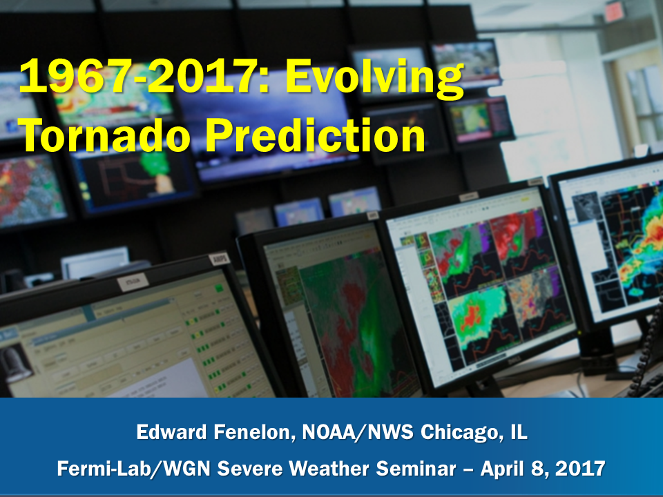 1967-2017:  Evolving Tornado Predication