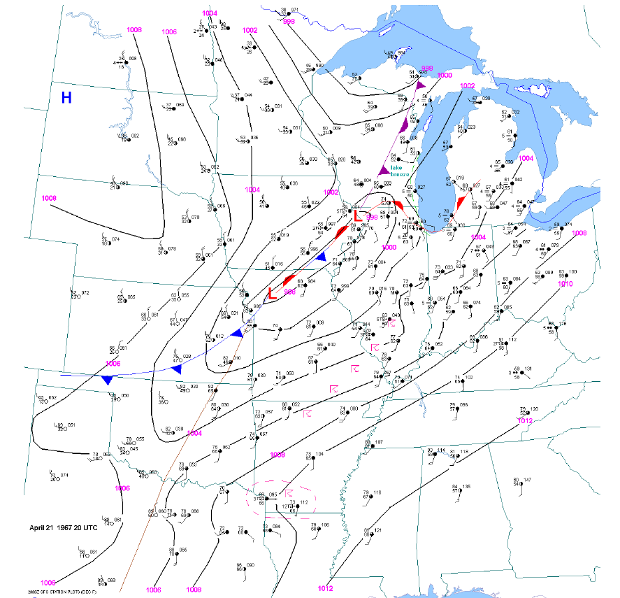 250 mb map at 00z