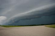 shelf cloud near rockford airport