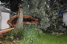 damage near Utica