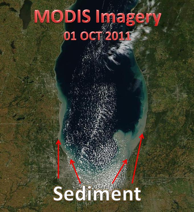 Aqua Satellite Imagery