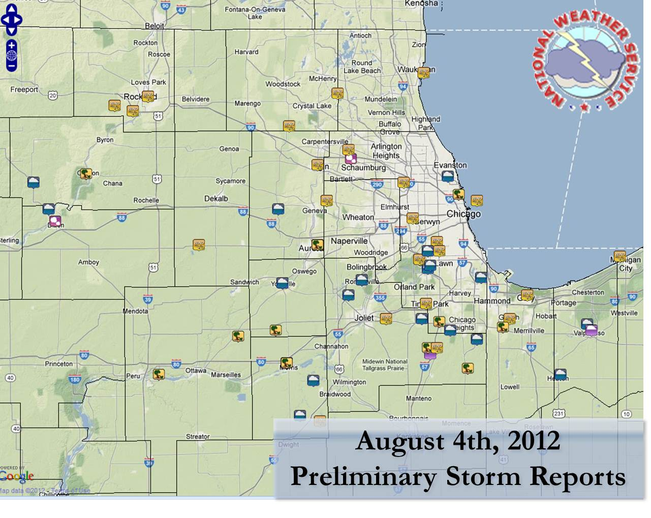 Preliminary Storm Reports