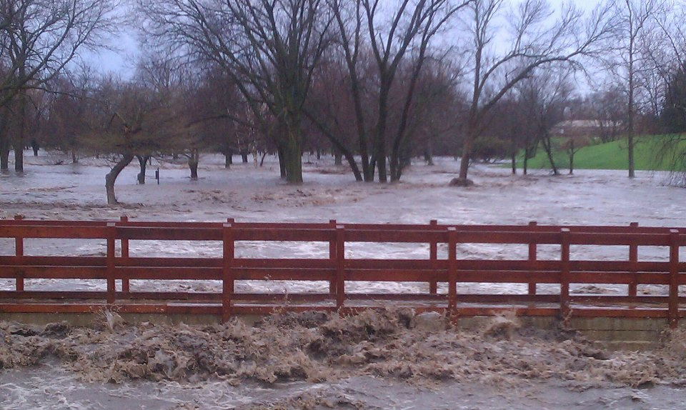 From a golf course off U.S. Hwy 6 west of Morris. Courtesy of Deb Beldon.