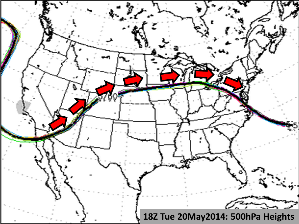 500hPa Heights