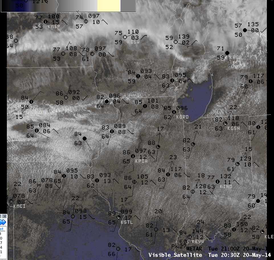 Early Afternoon Visible Imagery 2030Z