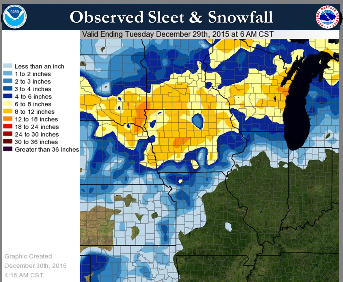 Regional Snow and Sleet