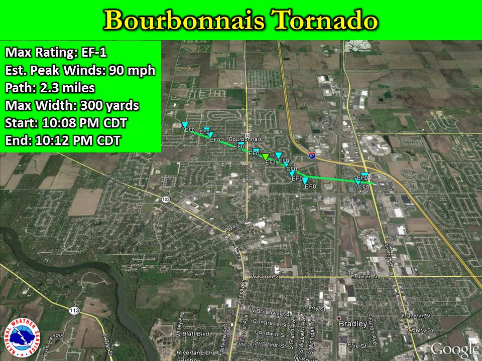 Bourbonnais Tornado