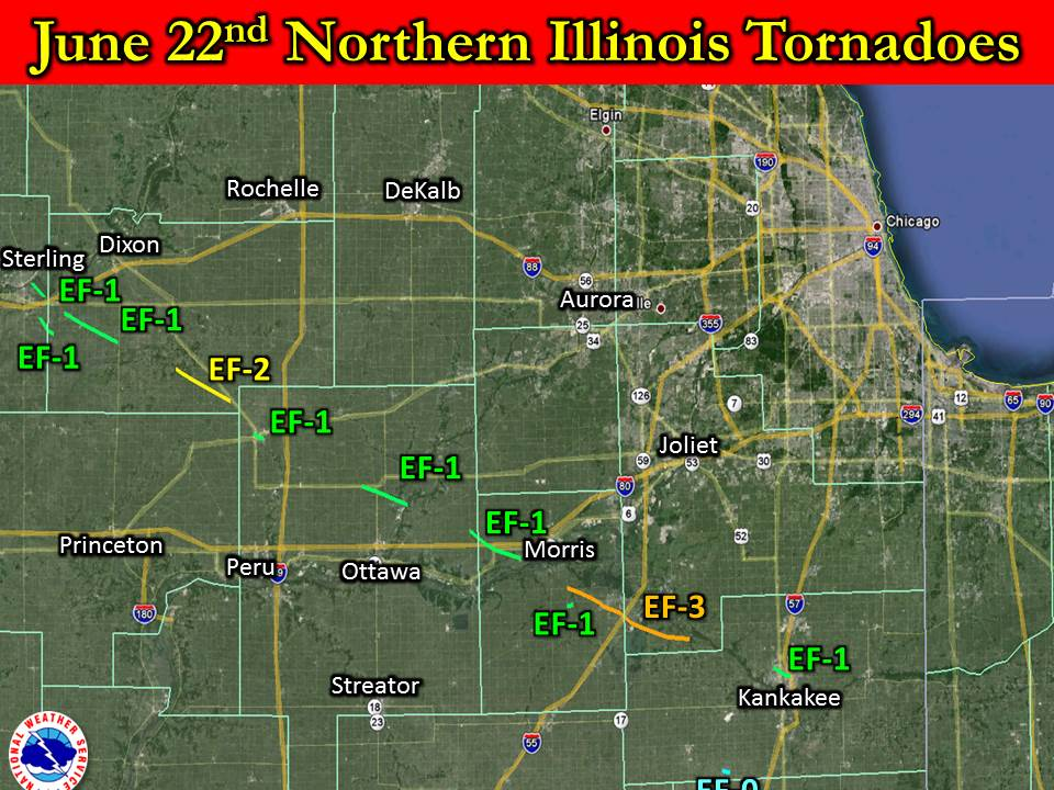 Overview Map for Northern Illinois