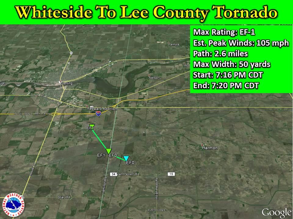 Whiteside to Lee County Tornado