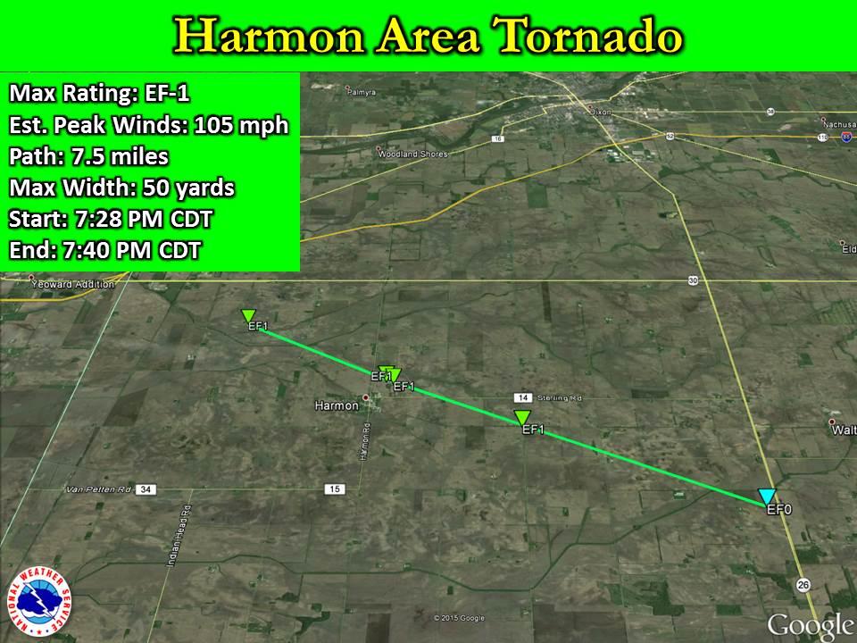 Harmon Area Tornado