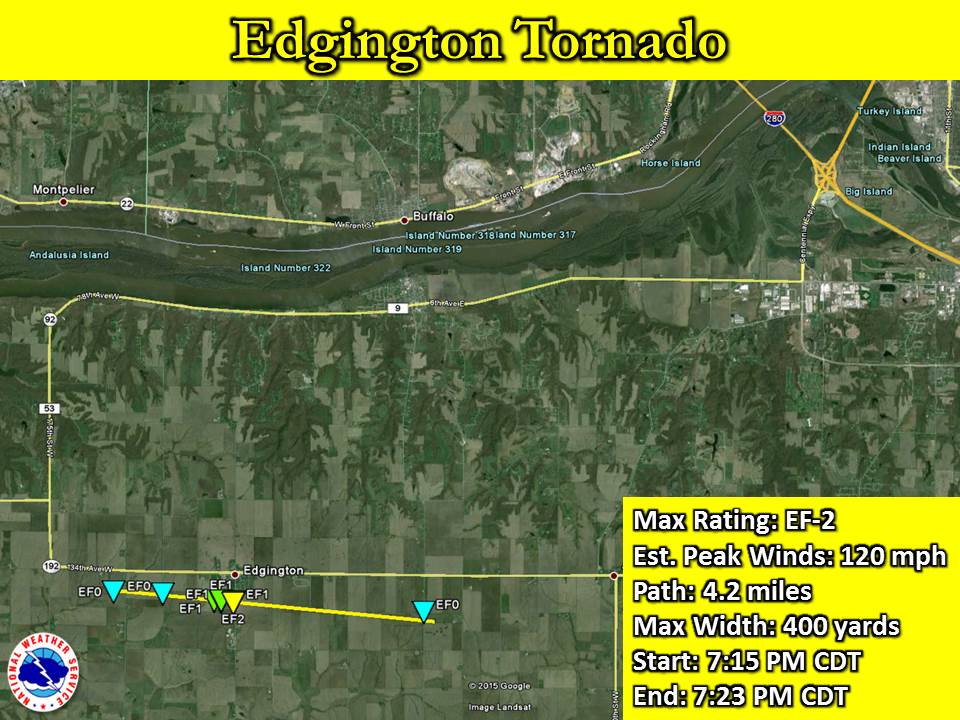 Edgington, IL Tornado