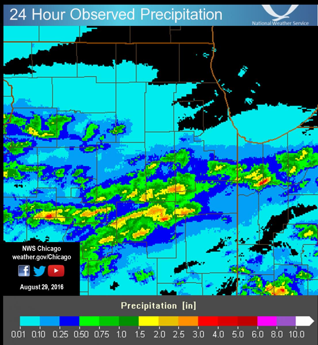 24 Hour Precipitation