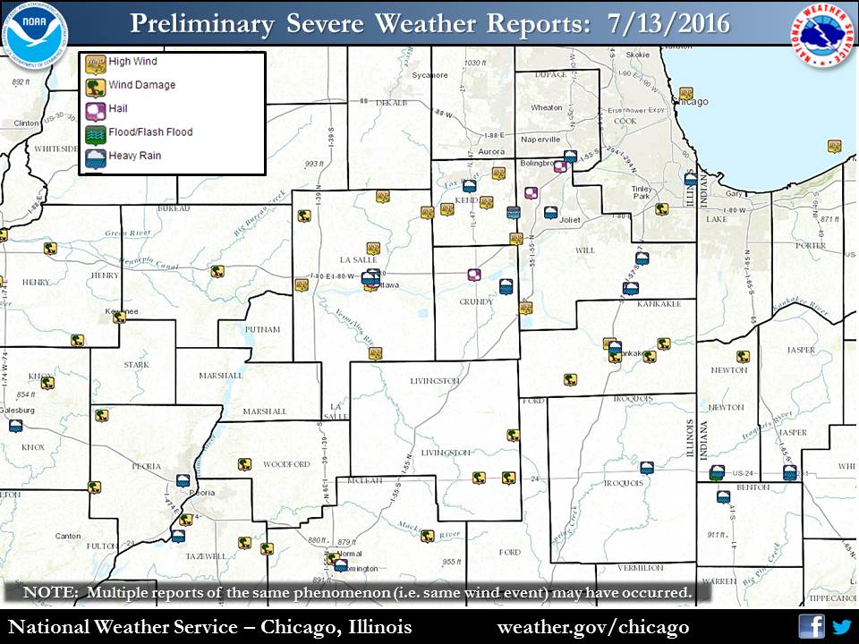 Local Storm Reports