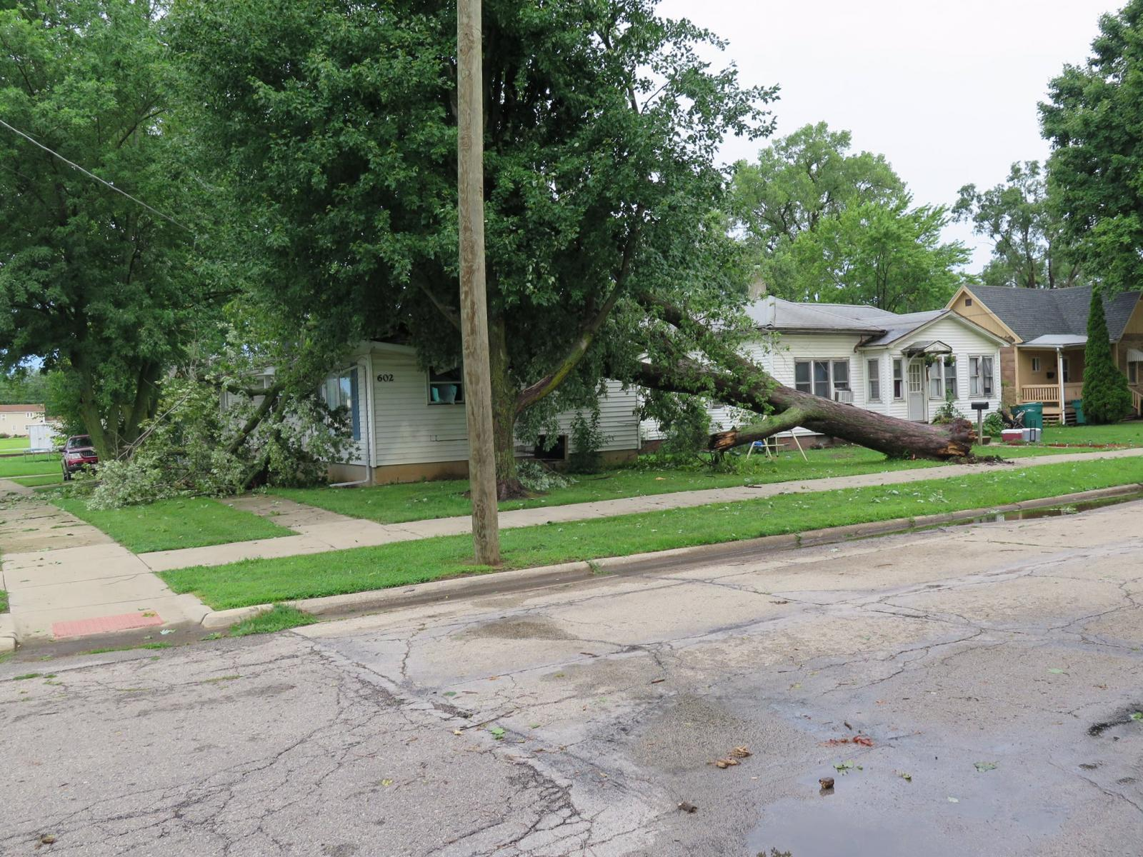 Wind Damage in Streator, IL