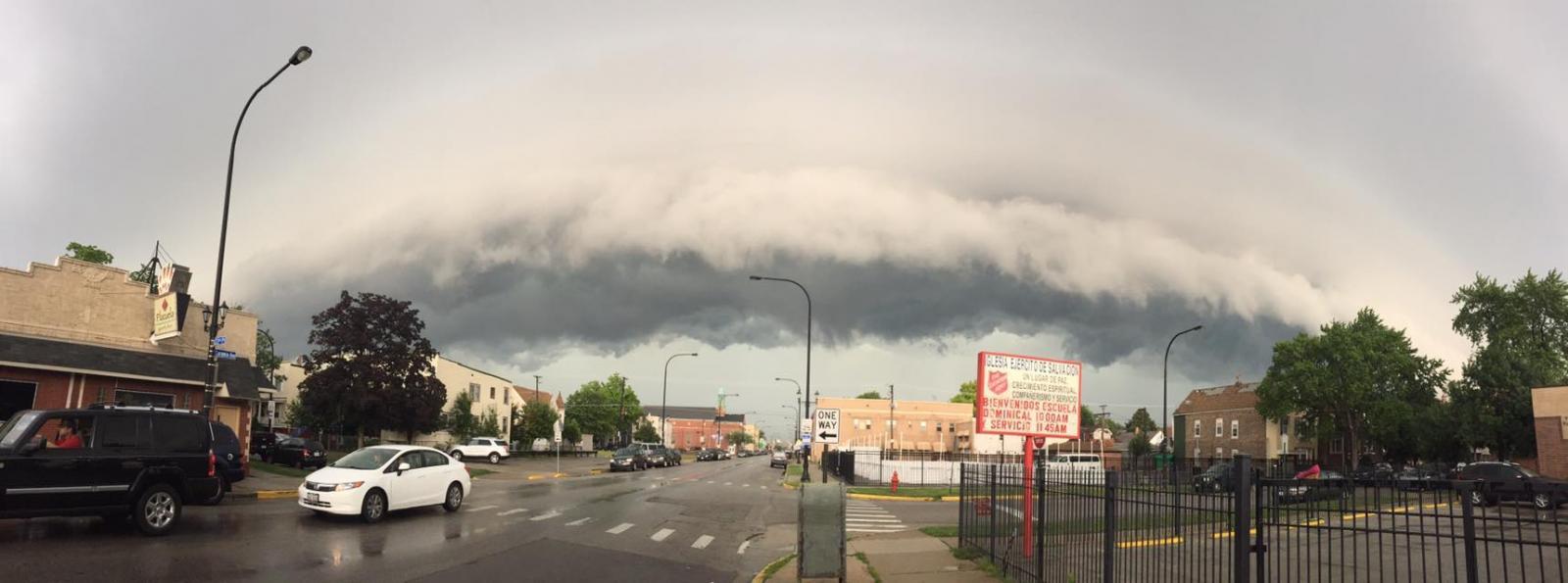 Shelf Cloud by Kevin Sheely, Cicero, IL