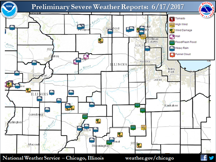 Storm Reports for June 17, 2017