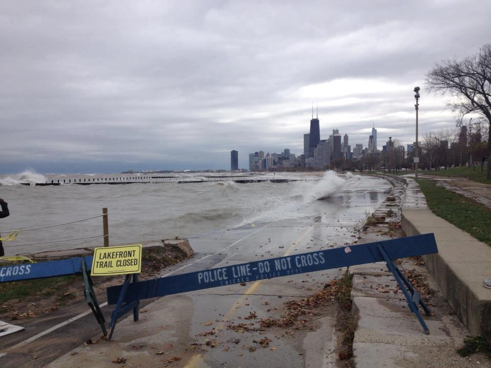 Photo of bike path in Chicago
