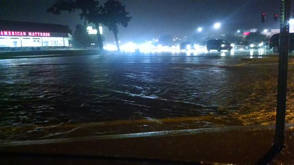Flooding in Rockford via WIFR