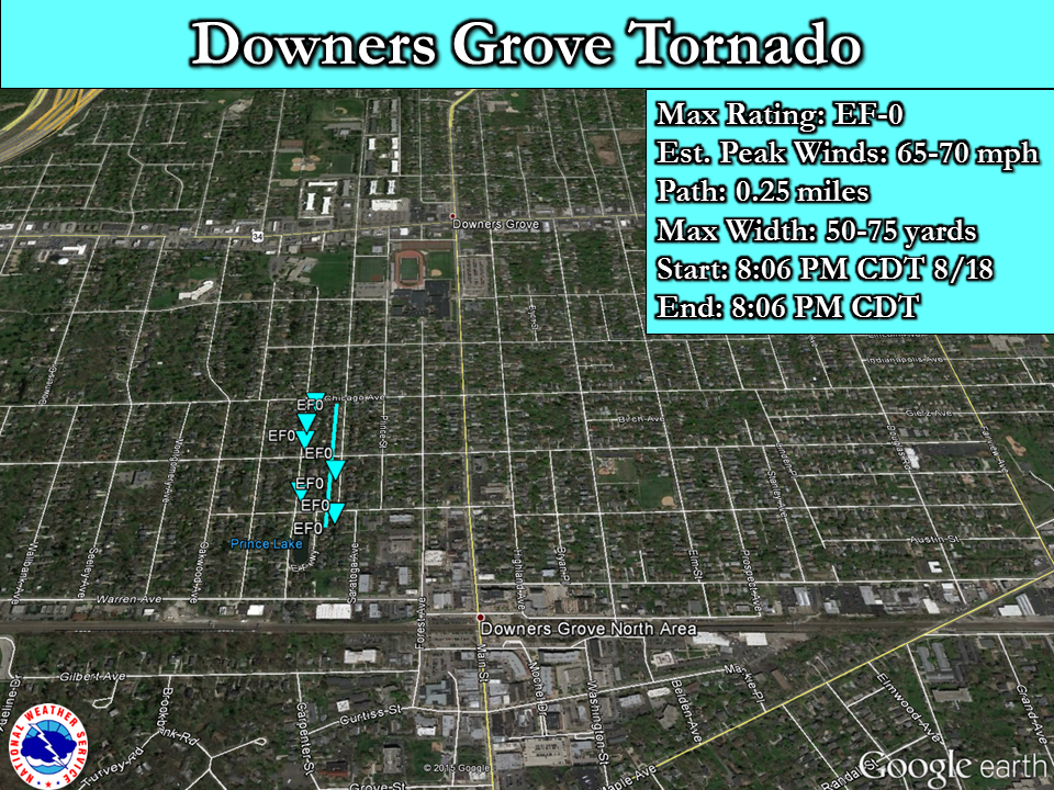 Downers Grove EF-0 Tornado