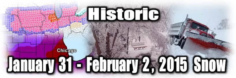 January 31-February 2, 2015 Snow