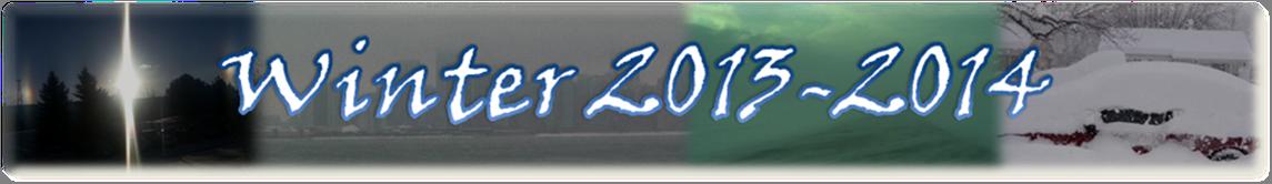 Winter 2013-2014